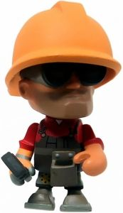 Team Fortress 2 Portable Mercs Mini Figure Red Engineer New!