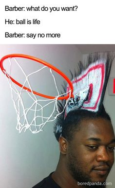 Take a look at some of the funniest The Barber memes out there. You know, they're the ones with ridiculous hairstyles and are pretty funny. American Funny Videos, Funny Cat Videos, Funny Kids, The Funny, Justin Bieber Witze, Barber Memes, Indian Funny, Picture Fails, Thing 1