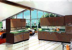 kuchenne schowki 1957 / kitchen storage 1957
