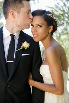 MTV VJ Damien Fahey and Fashionista Grasie Mercedes, married in 2013 Wedding Inspiration, Style Inspiration, Black Love, Mtv, Garden Wedding, Wedding Hairstyles, Families, Ethnic, Style Me