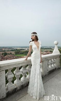 Berta  14-04 4: buy this dress for a fraction of the salon price on PreOwnedWeddingDresses.com