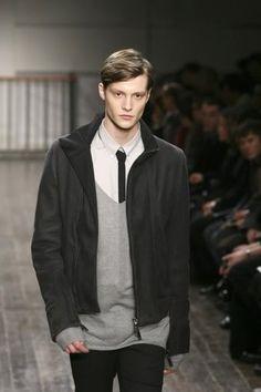 #MatthewHitt #Models #Fashion #Fashionblog #Drowners #Throwback #MattHittt for #AlessandroDell'Acqua FW09 MilanD