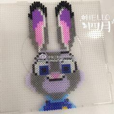 Judy - - Zootopia perler beads