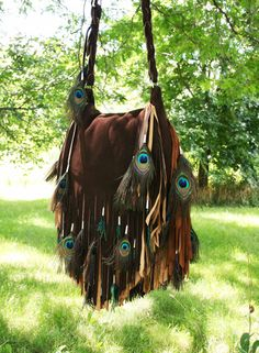Hey, I found this really awesome Etsy listing at http://www.etsy.com/listing/158737829/ombre-chocolate-brown-fringe-bag-w