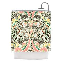 "Have to have it. Kess Inhouse Danny Ivan ""Too Much"" Shower Curtain $99"