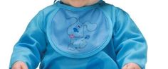 Boys Costumes - Baby Blue's Clues Costume includes: Bodysuit, character cap and printed bib. Baby Halloween Costumes For Boys, Boy Costumes, Costumes 2015, Halloween 2015, Cute Baby Boy, Cute Babies, Baby Kids, Clue Costume, Costume Ideas