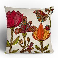 DENY Designs Valentina Ramos in The Garden Throw Pillow | Wayfair