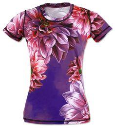 Women's Dahlia Tech Shirt for Running, Gym & Crossfit