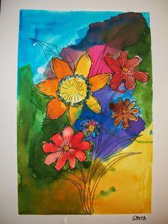 flors anil·lines 5è A i B - MARIA CARMEN NAVARRO GONZALEZ - Álbumes web de Picasa