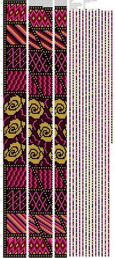 Схемы жгутов от Альбины Тезиной АльТеКо Bead Crochet Patterns, Bead Crochet Rope, Peyote Patterns, Crochet Designs, Beading Patterns, Beaded Crochet, Crochet Beaded Bracelets, Beaded Necklace Patterns, Bead Loom Designs