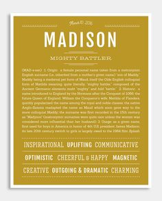 what does the name madison mean in hebrew