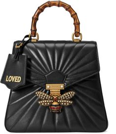I CANT EXCLAIM HOW BADLY I WANT THIS!!! Queen Margaret quilted leather backpack