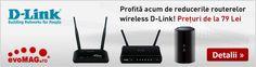 25% Reducere la Routerele Wireless D-Link