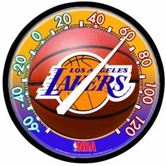 Los Angeles Lakers Thermometer