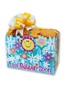 Nothing will make them feel better faster than some yummy freshly baked cookies only from Cookies From Home !