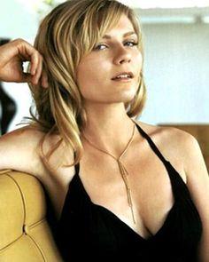 Kirsten Dunst - Long layers & blonde.