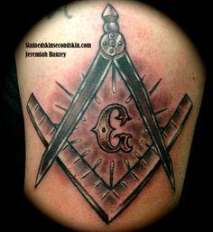Masonic Tattoo #JeremiahHanzey #StainedSkinSecondSkin