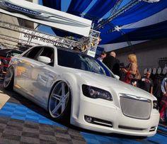 Chrysler 300 West Coast Customs   SEMA Autoshow 2013 #aftermarket #SEMA #SEMA2013 Chrysler 300 Srt8, Chrysler 300s, Dodge Chrysler, American Classic Cars, American Auto, My Dream Car, Dream Cars, West Coast Customs, Car Mods