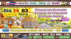 Páscoa em Gramado com a JJNG Turismo