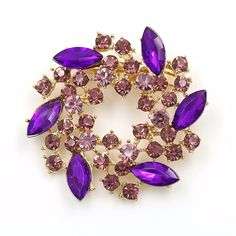 4f6511ad7 Beautiful Colored Flower Brooch Pins //Price: $8.99 & FREE Shipping //
