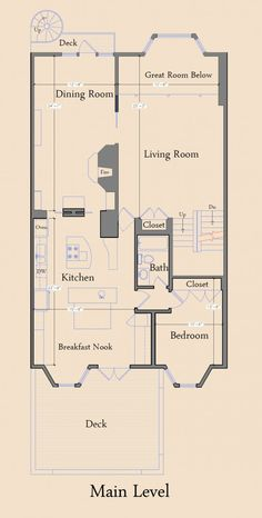 Main level Beautiful 1921 Town House in San Francisco | HomeDSGN