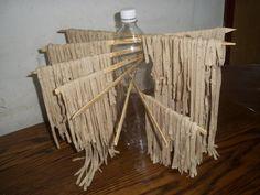 DIY Pasta drying rack