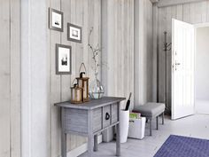 White Wash Pine Pvc Wall cladding