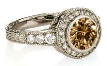 Chocolate Diamond Engagement Rings | 75 CT. Chocolate diamond ENGAGEMENT RING gold new. Repinned by one of WorthPoint's favorite pinners!
