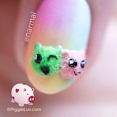 They have no arms & no legs and bounce everywhere, but at least they have adorable little ears! Can you think of a funny name for their species? Funny Names, Macro Shots, Things That Bounce, Ears, Nail Polish, Nail Art, Nail Polishes, Ear, Polish