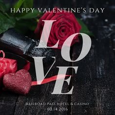 May your day be filled with love! #HappyValentinesDay #RailroadPass