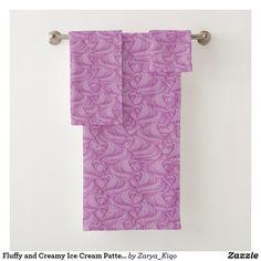 Bath Towel Sets, Surface Pattern Design, Cute Illustration, Artwork Design, Hand Towels, Print Design, Vibrant, Prints