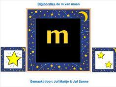 De 'm van maan' Juf Marije en Juf Sanne