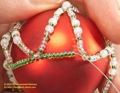 Small Beaded Ornament Cover Pattern