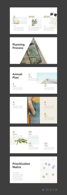 Planner presentation template - Business planning Year plan for business Design Presentation, Presentation Templates, Effective Presentation, Presentation Slides, Powerpoint Design Templates, Layout Template, Web Design, Layout Design, Case Study Design