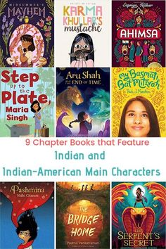 9 Chapter Books Featuring Indian & Indian-American Characters - Feminist Books for Kids Best Children Books, Childrens Books, Ancient Indian Art, Feminist Books, Book Lists, Reading Lists, Chapter Books, Book Themes, Children's Literature