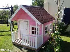 Znalezione obrazy dla zapytania domki dla dzieci