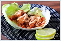 Bang Bang Shrimp in Lettuce Wraps - http://www.abittersweetwife.com/2012/02/bang-bang-shrimp-in-lettuce-wraps.html