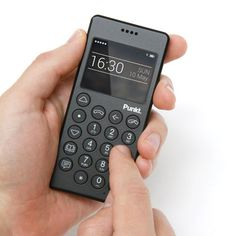 Swiss technology brand Punkt has launched a stripped-back mobile handset designed by Jasper Morrison that offers only basic phone functions