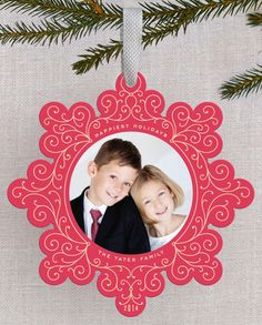 Ornament Holiday Cards