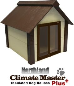 modern+dog+house | ... Technology, truly removable roof, and premium all-weather dog door