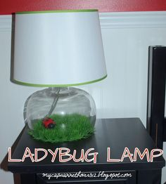 My Cup Runneth Over: LADY BUG LAMP @Niina Downey