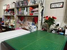 This is our Sewing studio where we do our training classes. Sewing Class, Sewing Studio, Training Classes, This Is Us, Do Your Thing, Quilting Room