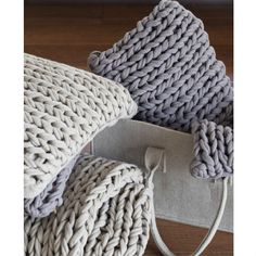 Chunky Knit Cushion from Mocha - knitted cushions