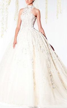 ZIAD NAKAD The White Realm bridal collection 2014-2015