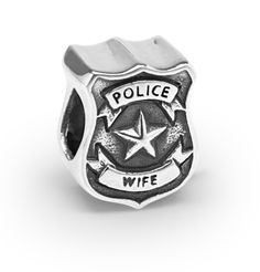 Police Wife Couture Charm