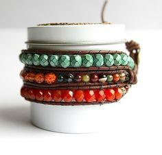 TUTORIAL, DIY Best Leather Wrap Bracelet,  - Save 50% - 90% on Special Deals. http://www.ilovesavingcash.com