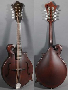 I love this Weber mandolin!