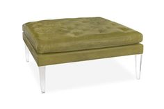 delicious Lee ottoman. available in your choice of fabrics! www.redinfred.com