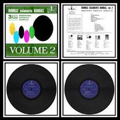 LP Orquestra Serenata Tropical - Rumbas Solamente Rumbas Vol. 2