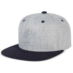 5372009e9fe Timberland Men s Flat-Brim Baseball Cap ( 30) ❤ liked on Polyvore featuring  men s